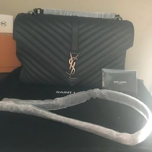 New YSL Large college bag